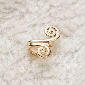 Jewelry - Laila Gold Swirl Ear Cuff